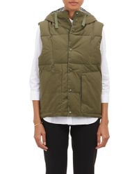 Engineered Garments - Hooded Puffer Vest - Lyst
