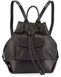 L.A.M.B. Gracie Leather Backpack black - Lyst