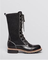 Woolrich - Lace Up Lug Sole Boots - Lyst