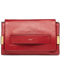 Chloé Elle Clutch Bag With Shoulder Strap - Lyst