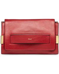 Chloé Elle Clutch Bag with Shoulder Strap - Lyst