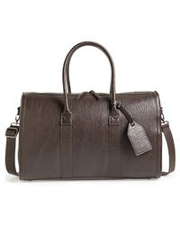 TOPMAN - Faux Leather Satchel - Lyst