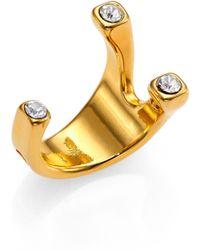 Vita Fede Trix Crystal Ring - Lyst