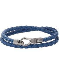 Tod's My Colors Leather Wrap Bracelet - Lyst