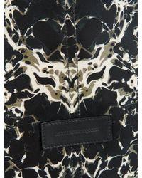 Alexander McQueen - De Manta Marble-Print Nylon Weekend Bag - Lyst