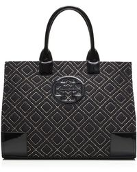 Tory Burch Ella Quilted Tote - Lyst