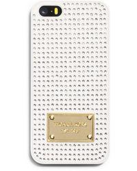 Michael Kors Pavé-embellished Phone Case - Lyst