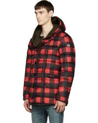 Colmar - Red Check & Green Reversible Coat - Lyst