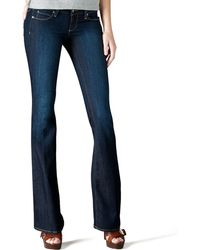 Paige Skyline Fountain Boot-cut Jeans - Lyst
