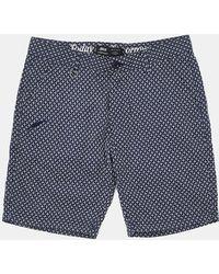 Publish Armadeus Shorts - Navy blue - Lyst