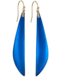 Alexis Bittar Long Angled Lucite Drop Earrings Made To Order - Lyst