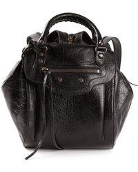 Balenciaga Large Pompon Shoulder Bag - Lyst