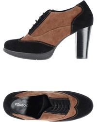 Romeo Gigli - Laceup Shoes - Lyst