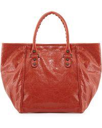 Balenciaga Classic Sunday Small Tote Bag - Lyst