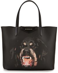 Givenchy Antigona Rottweiler Small Coated-Canvas Shopping Tote Bag - Lyst