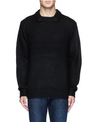Acne Studios Clifton Wool Sweater - Lyst