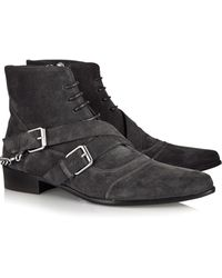 Tabitha Simmons Bryon Suede Ankle Boots - Lyst