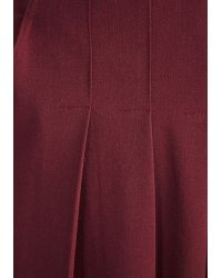 Miss Candyfloss - The Embolden Age Jumpsuit In Burgundy - Lyst