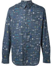 Paul Smith Window Print Shirt - Lyst