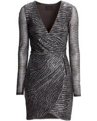 H&M Wraparound Dress - Lyst