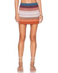 Goddis Colton Mini Skirt - Lyst