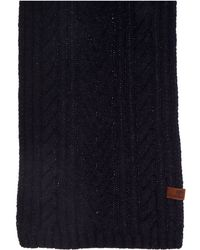 Ben Sherman - Cable Scarf - Lyst