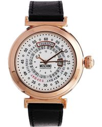 Boutique Moschino - Moschino Spin Off Black Watch - Lyst