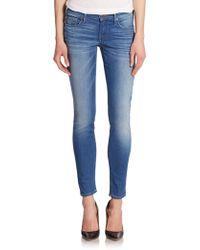 True Religion Casey Light Wash Skinny Jeans - Lyst