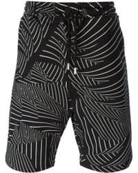 Christopher Kane Pages Print Swimming Shorts - Lyst