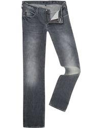 Armani Jeans J10 Grey Extra Slim Leg Jeans - Lyst