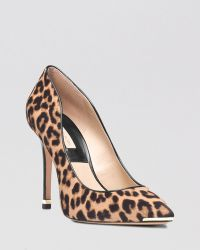 Michael Kors Pointed Toe Pumps  Avra High Heel - Lyst
