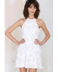 Nasty Gal Dress The Population Anni Sequin Dress - Lyst