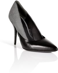 Alexander Wang Leather/Fabric Cicely Pumps - Lyst