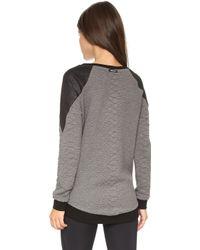 Michi - Melano Sweatshirt - Croc Grey - Lyst