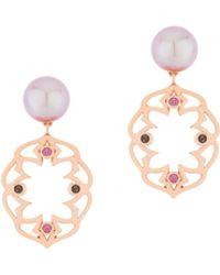 Sarah Ho - Sho - Bluebell Pearl Earrings - Lyst