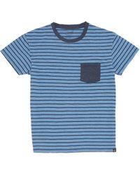 Grayers - Breton Striped Cotton Tee - Lyst