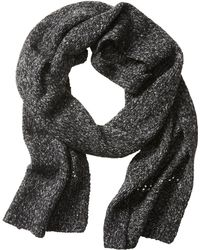 Banana Republic Heritage Marled Scarf gray - Lyst