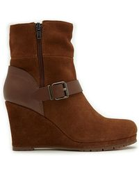 Dolce Vita | Pistal Wedge Booties | Lyst