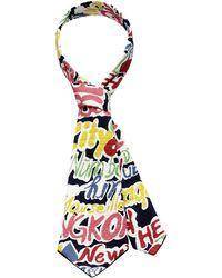 Scenery Label - Graffiti Short Necktie - Lyst