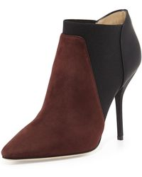 Jimmy Choo Deluxe Bicolor Ankle Boot - Lyst