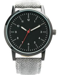 Forever 21 - Men Chevron Band Analog Watch You've Been Added To The Waitlist - Lyst