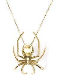 J. Herwitt - Large Spider Pendant - Lyst