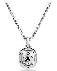 David Yurman Noblesse Necklace with Diamonds - Lyst