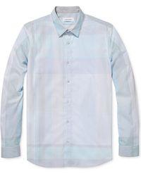 Calvin Klein White Engineered Shirt - Lyst