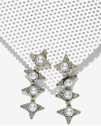 Cocoa Jewelry - Danica Chain Earrings - Lyst