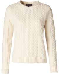 Tommy Hilfiger Farida Cable Sweater - Lyst