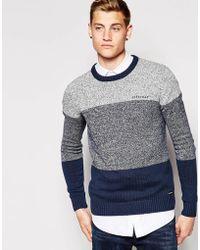 Firetrap Stripe Knit Sweater