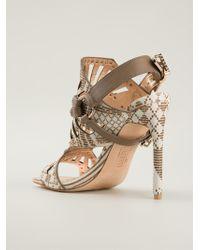 Ivy Kirzhner | Valentin Cutout Sandals | Lyst