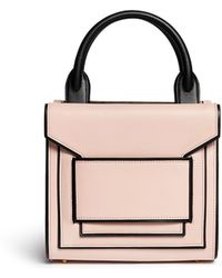 Pierre Hardy Colourblock Piping Leather Bag - Lyst