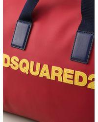 DSquared² - Logo Weekender Bag - Lyst